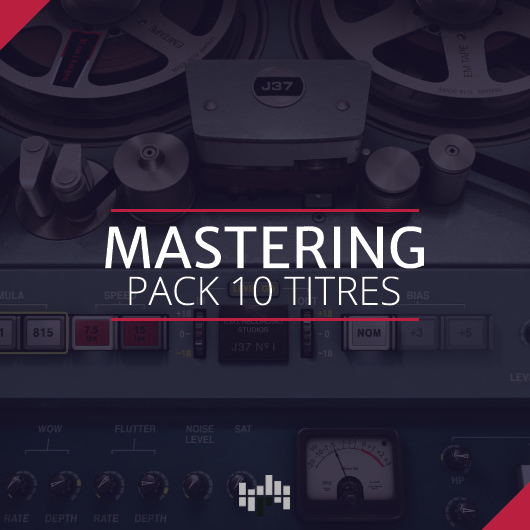 Mastering pack 10 titres