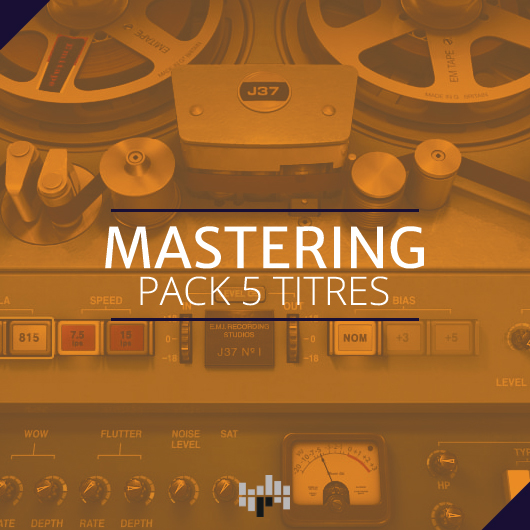 Mastering pack 5 titres