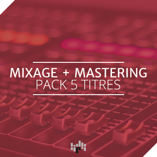 Mixage + mastering pack 5 titres