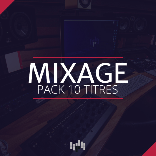 Mixage pack 10 titres