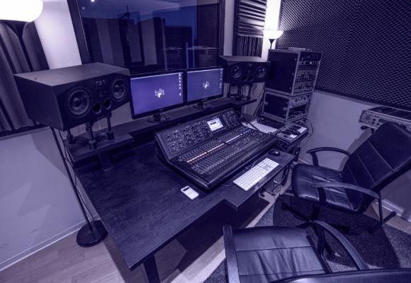 Le studio d'enregistrement