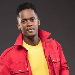 Black M, artiste rappeur, chanteur